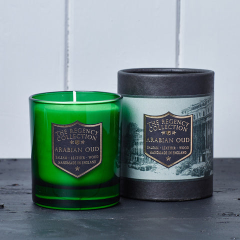 Arabian Oud Scented Candle - Regency Collection - Beautifully Scented Candles, Reed Diffusers for your home or office - Parkminster