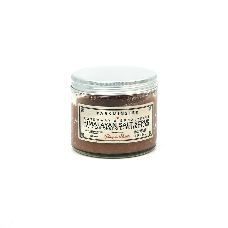 Himalayan Body Salt Scrub Jar- 250ml - Star Collection - Beautifully Scented Candles, Reed Diffusers for your home or office - Parkminster Products - Beautifully Scented Candles & Reed Diffusers for the Home