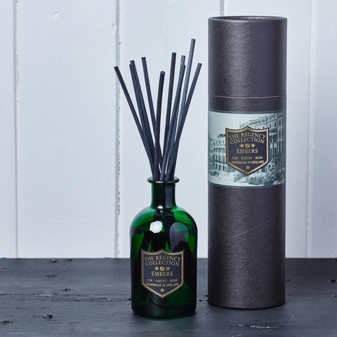 Embers Reed Diffuser - Regency Collection - Beautifully Scented Candles, Reed Diffusers for your home or office - Parkminster Products - Beautifully Scented Gifts for the Home