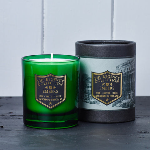 Embers Scented Candle - Regency Collection - Beautifully Scented Candles, Reed Diffusers for your home or office - Parkminster