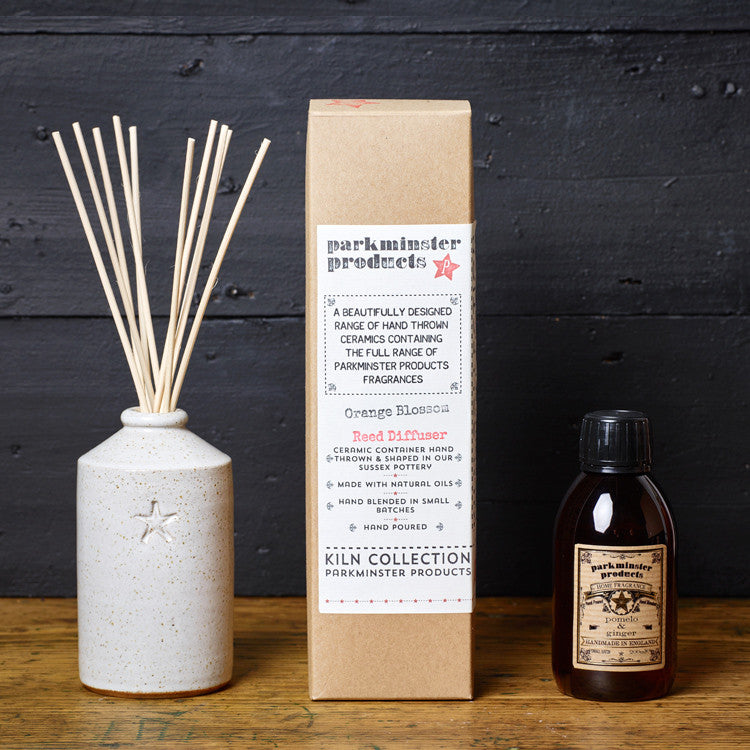 Ceramic Reed Diffuser (200ml) - Kiln Collection - Beautifully Scented Candles, Reed Diffusers for your home or office - Parkminster