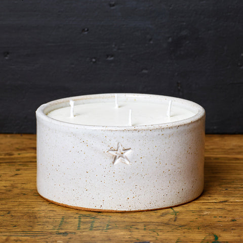 Large Ceramic Bowl Candle - Kiln Collection