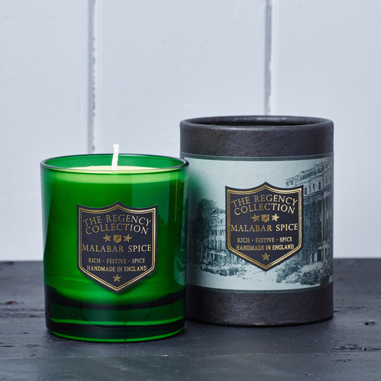 Malabar Spice Scented Candle - Regency Collection - Beautifully Scented Candles, Reed Diffusers for your home or office - Parkminster