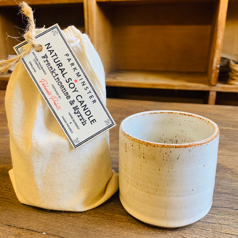 NEW - Ceramic Pot Candle - Kiln Collection - Parkminster Products - Beautifully Scented Candles & Reed Diffusers for the Home