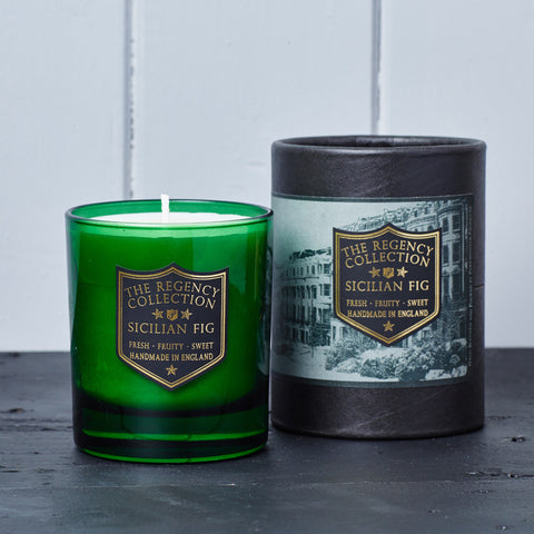 Sicilian Fig Scented Candle - Regency Collection