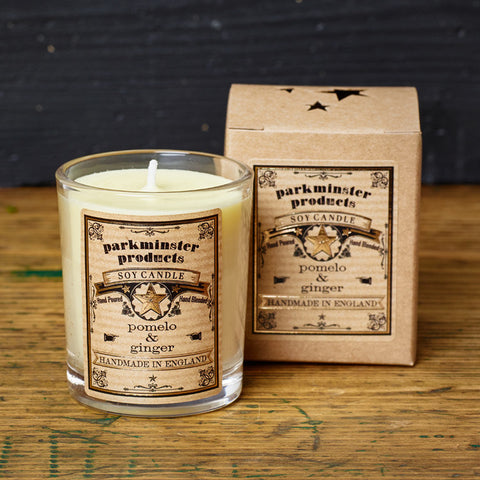 Parkminster Small Votive Scented Candle 9cl Soy Wax Natural Scent Essential Oil