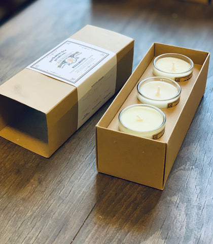 Christmas - Triple Pack Candle Gift Set - Beautifully Scented Candles, Reed Diffusers for your home or office - Parkminster