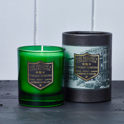 Italian Mimosa Scented Candle - Regency Collection