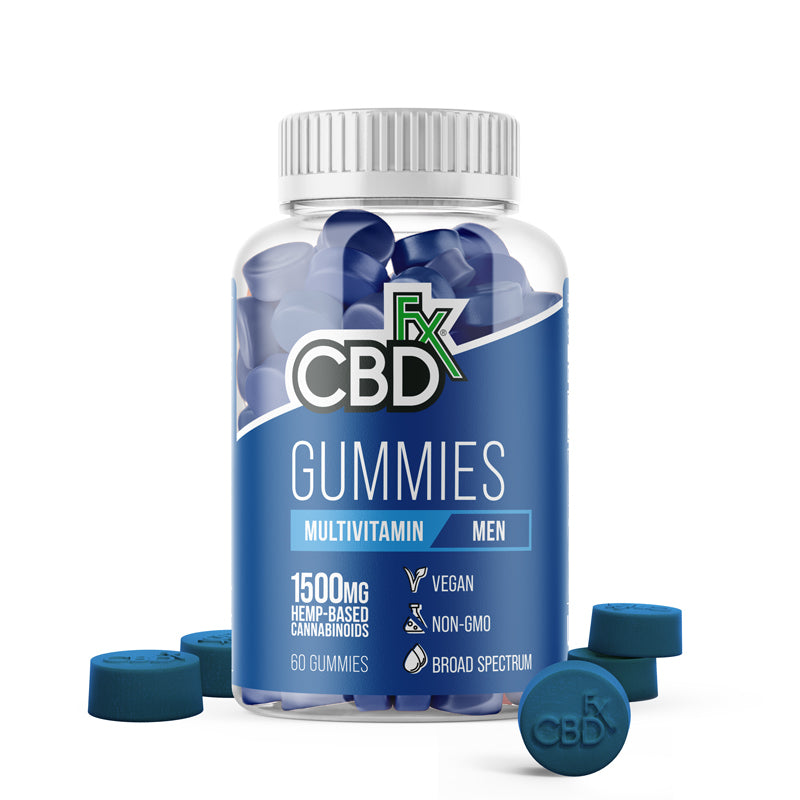 Men's Multivitamins+CBD gummies