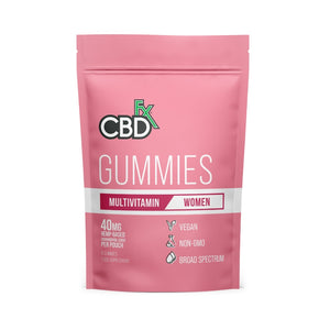 Women's Multi Vitamin+CBDfx Gummies