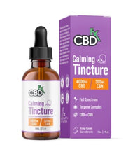Load image into Gallery viewer, Calming Tincture - CBD+CBN Oil