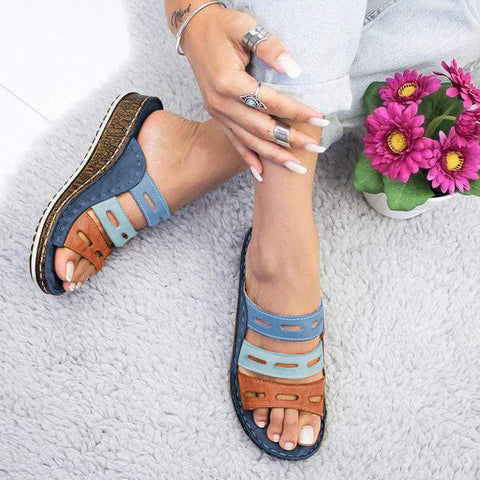 Sophia™ Orthopedic tri color Cute Sandals for Women