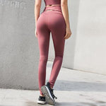 Cross High Waist Active Wear Bodybuilding Fitness Sexy Push Up Leggings