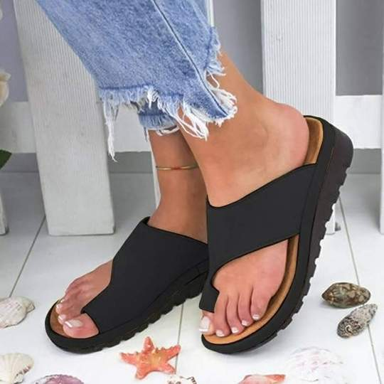 2019 Large Size Women Casual Clip Toe Platform Sandals