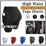 High Waist Out Pocket Yoga Shorts