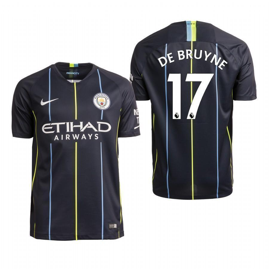 8a53ca413 Kevin De Bruyne Manchester City Away Jersey 2018 19 – Maccyron Store
