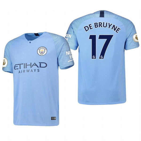 2e59574ee Kevin De Bruyne Manchester City Home Jersey 2018 19 – Maccyron Store