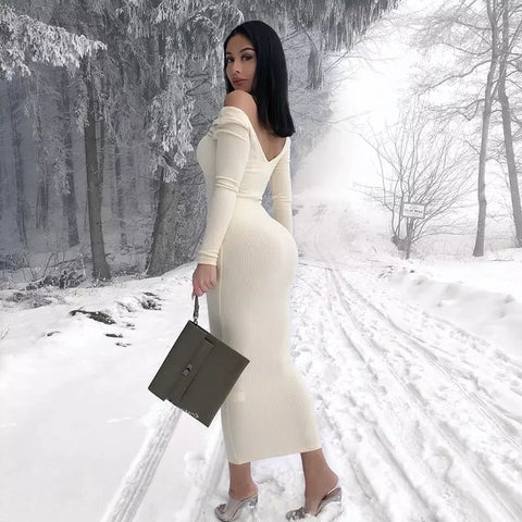 Winter Baddie Dress