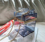 Transparent Square Clutch