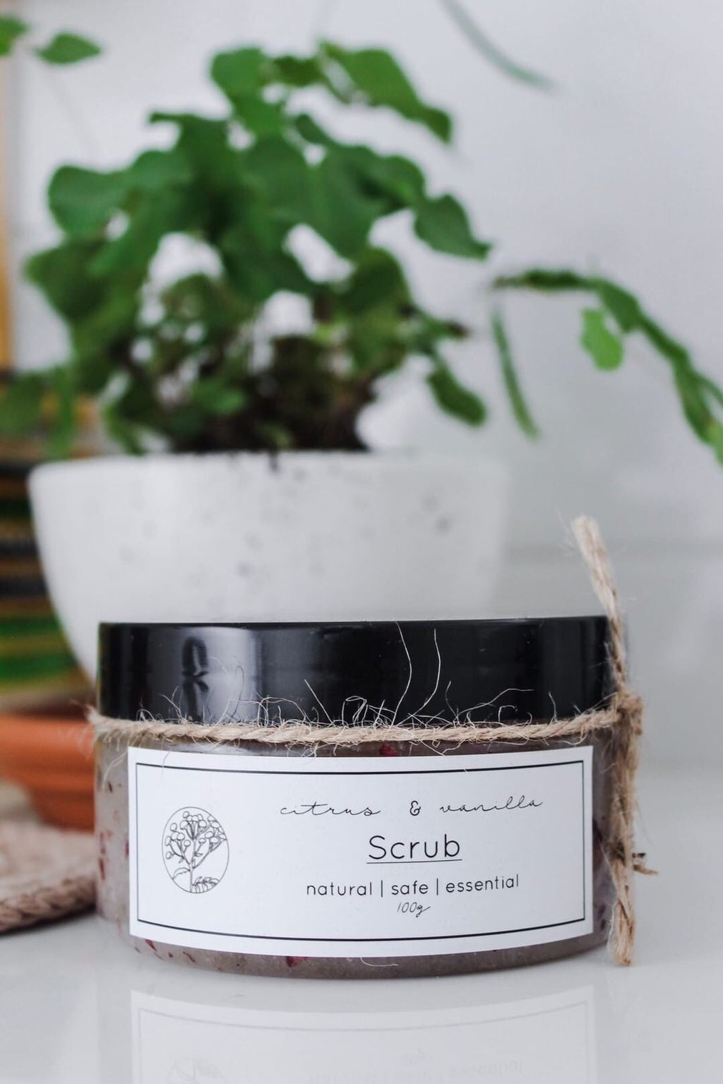 Citrus and Vanilla Scrub