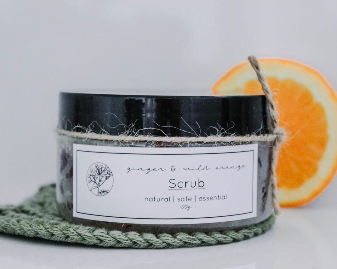 Ginger and Orange Scrub