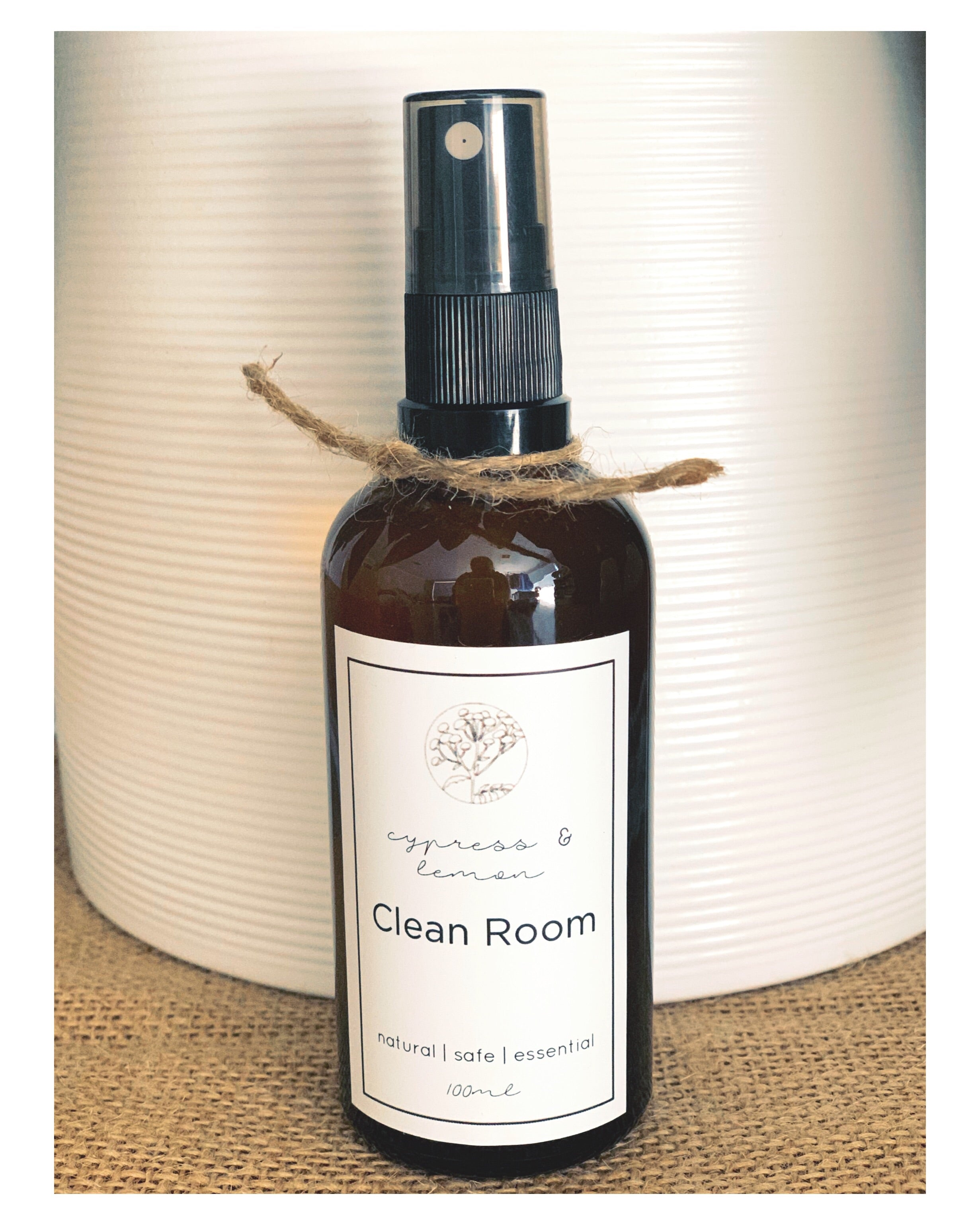 Cypress and Lemon Clean Room Spray