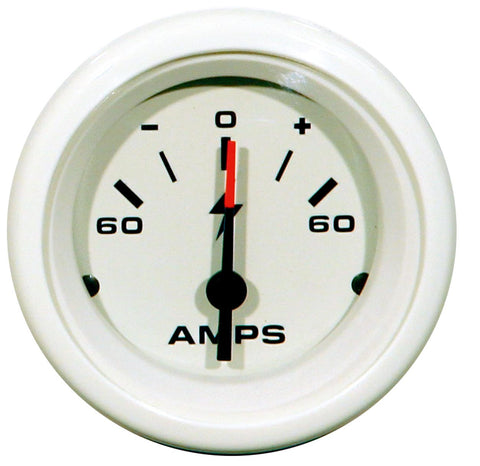 "Amperemeter 60-0-60 ""White Domed"", TELEFLEX"