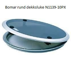 "Trimring for rund luke ""N1139-10PX"" off-white, BOMAR"