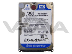 Disco Duro Western Digital Scorpio Blue de 750GB