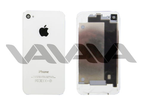 Tapa Trasera para iPhone 4 Color Blanco