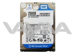 Disco Duro Western Digital Scorpio Blue de 250GB