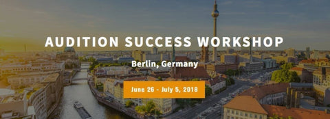 Application Fee ~ Balance Arts Opera Berlin presents: Audition Success Workshop
