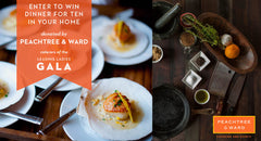 Raffle Drawing: Enter to Win Dinner for Ten in your Home, donated by Peachtree & Ward