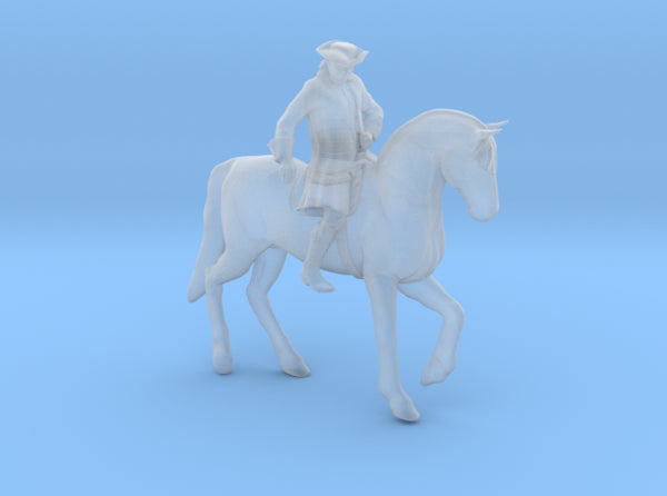 Paul Revere's Midnight Ride 3d printed