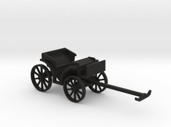 Carriage Two Seater 3d printed