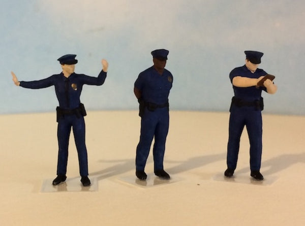 Police Officer Traffic Control Set 3d printed