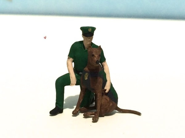Police K-9 Unit Sit 3d printed