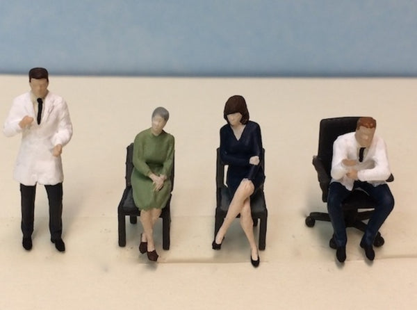 Doctor's Office Figure Set 3d printed