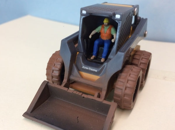 Skid Steer Loader Operator 3d printed