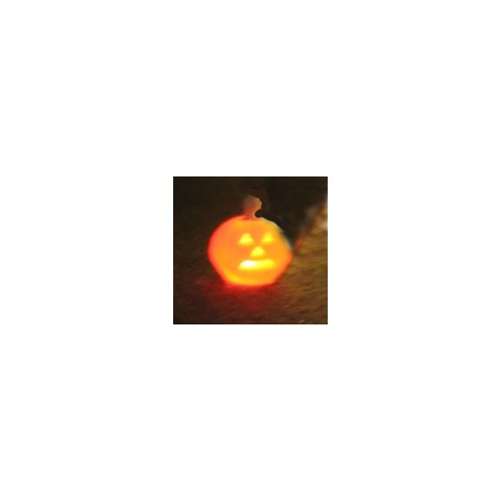 Jack-O-Lantern Lighted