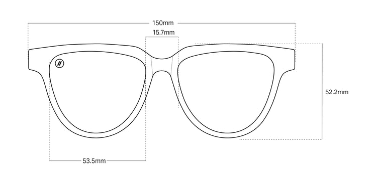 other frame options available six eyed graphic sunglasses