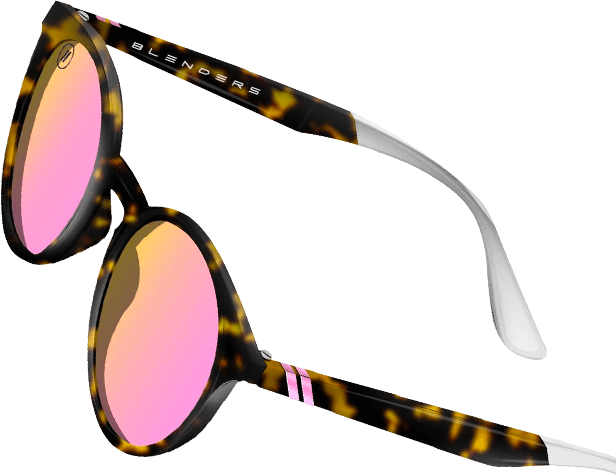 Lakey 7 sunglasses with pink lenses