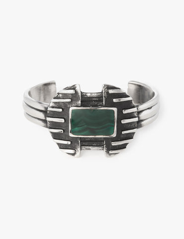 Copy of Deco Cuff #2 in Malachite - Dream Collective