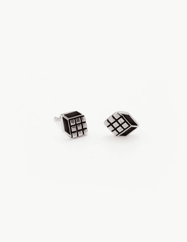 Rubik's Cube Studs - Dream Collective