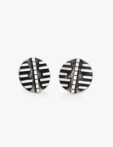 Deco Disc Studs #2 - Dream Collective