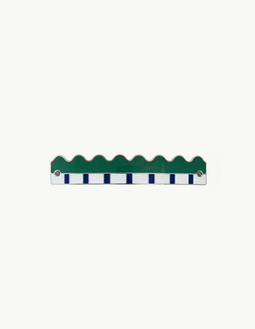 Green Piano Barrette