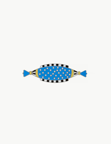 Zeppelin Brooch - Blue - Dream Collective