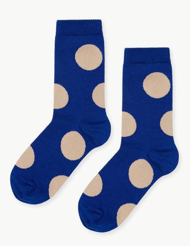 Rie Crew Sock in Cobalt - Dream Collective