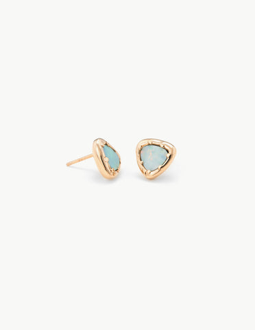 Opal Organic Amulet Studs - Dream Collective