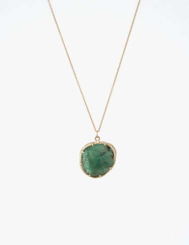 Emerald Organic Amulet Pendant - Dream Collective